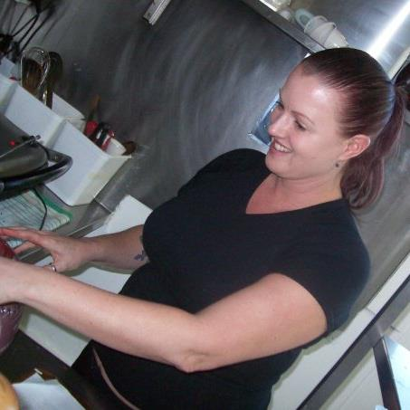 Janine at Work